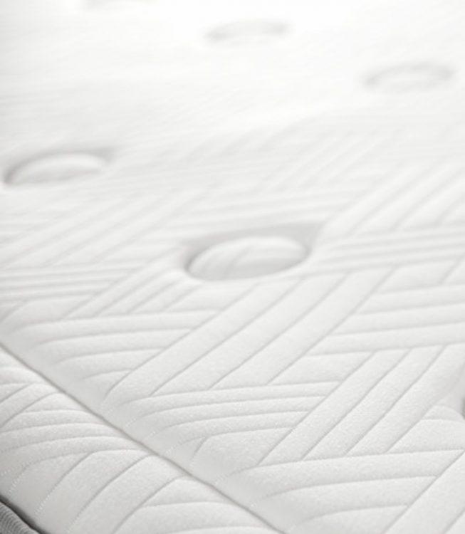 Primer plano del colchón neptuno
