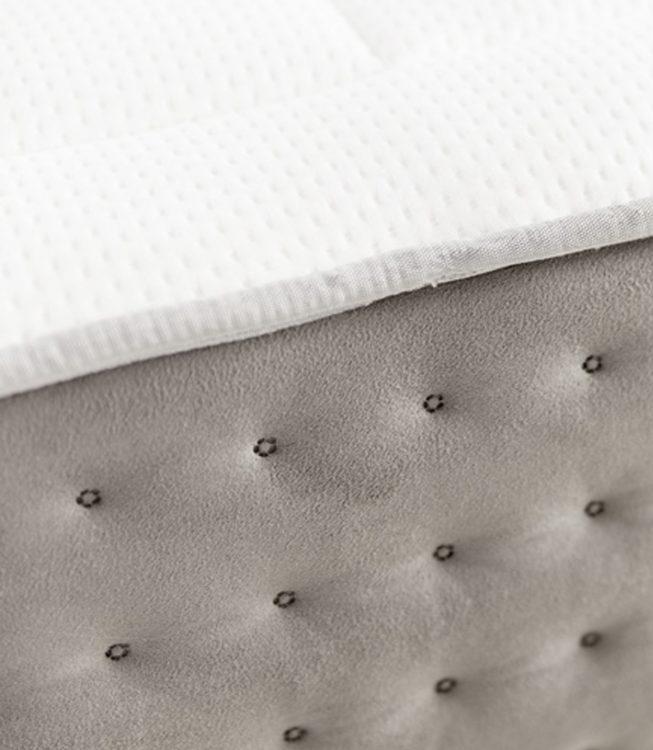 Textura vista desde un primer plano del colchon pluton